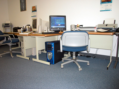 A workstation from our Long Island, NY offices